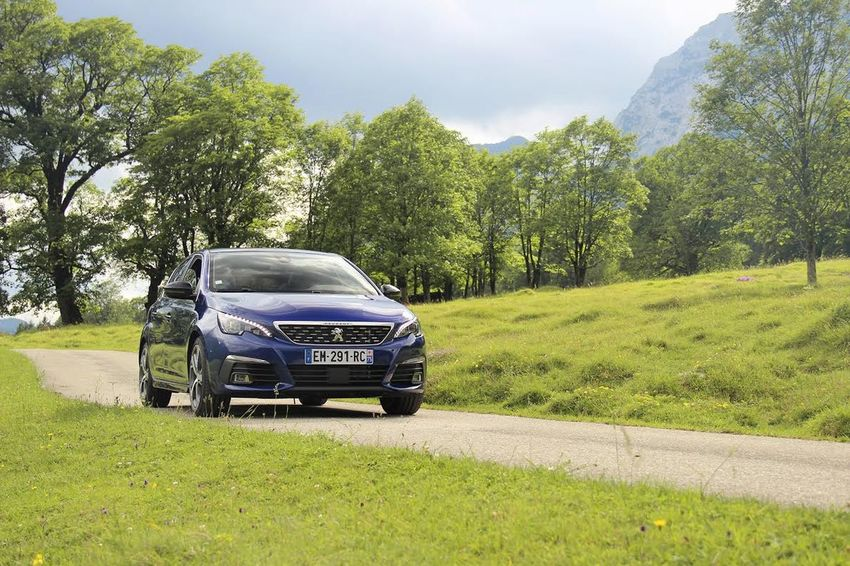Test drive of the new Peugeot 308 in Germany. Automotive Car French French Car Germany Landscape Mountains Outdoors Peugeot Peugeot 308 Road Trip Shooting Test Drive