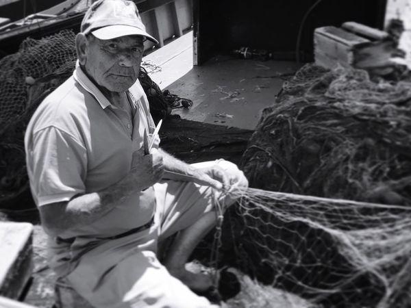 Pescatore du Favignana Trapani. Favignana Egadi MarMediterraneo Tradition Pesce