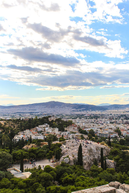 Head in the clouds over Athens. Aerial View Athens Athens, Greece City Life Cityscapes Europe Landscapes Mountain Range Skyporn Tranquil Scene Travel Travel Destinations Travel Photography Urban Landscape Urban Life Urban Lifestyle