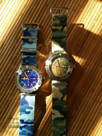 Watch Streamzoofamily TheVille Summer ☀ Vostok Komandirskie K35 24 H Watch Made In Russia