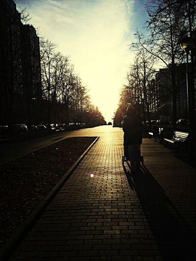 Taking Photos Walking Alone... Sunset Like