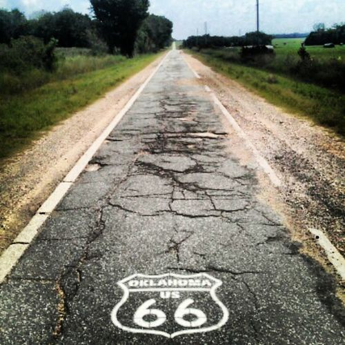 Route66 Oklahoma Lastofthepast Nostalgic  beautiful countryside