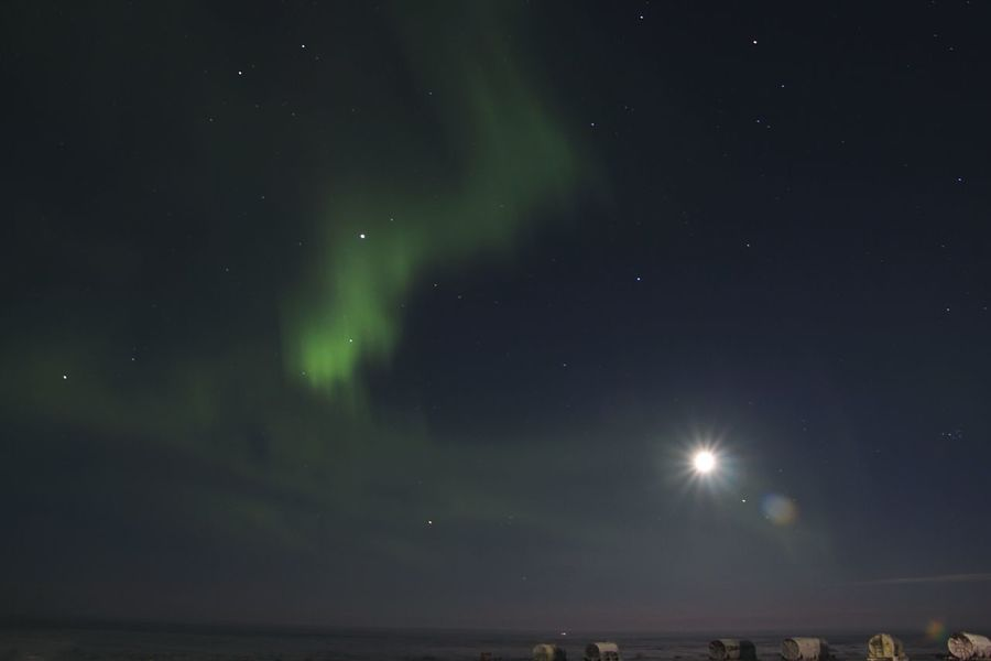Pivotal Ideas Colour Of Life Russia Night North Polar Lights North Light  Северное сияние Ночь небо север Россия
