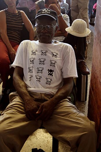 Nice Shirt From My Point Of View People People Photography People Of EyeEm People Watching Cuba