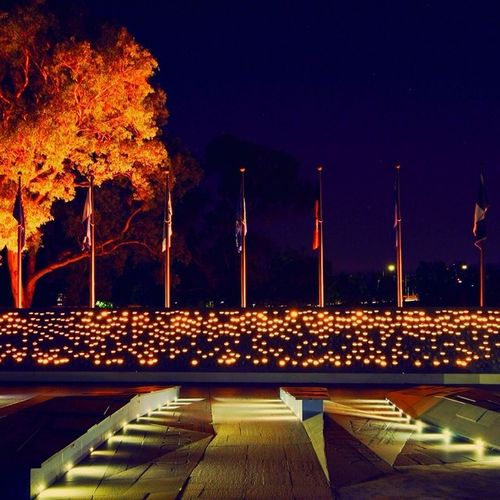 As promised, here is a picture for @visitcanberra of the very beautiful National Police Memorial. A full version on this picture is on my facebook page.