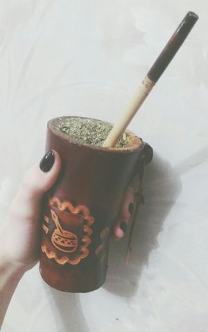 Yerba Mate Yerba Mate Tea Cuia Gourd Pumpkin Drinking Tasty Relaxing Healthy