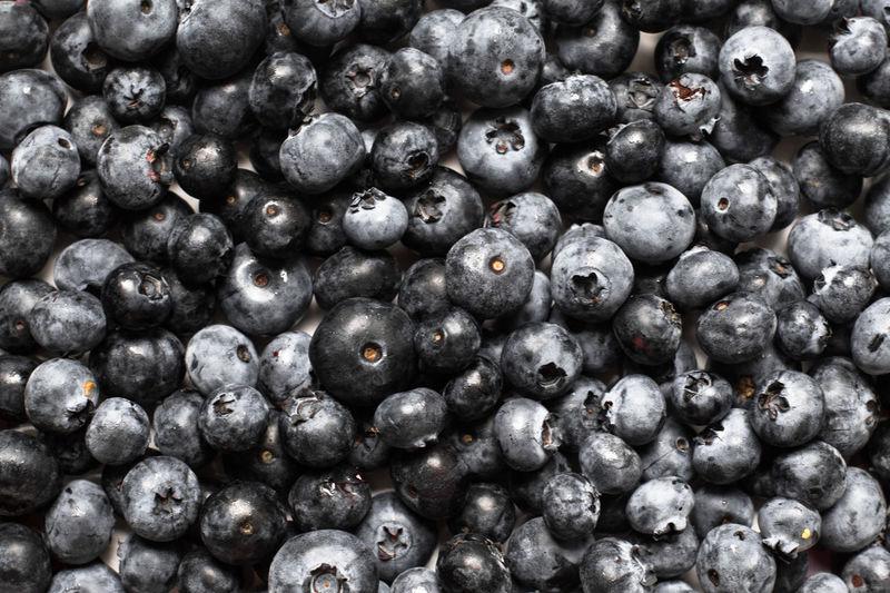 Full frame shot of wet berries