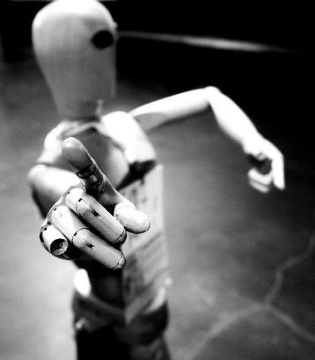 Blackandwhite Photography Close-up Gesture Human Finger Mannequin Selective Focus Still Life Photography