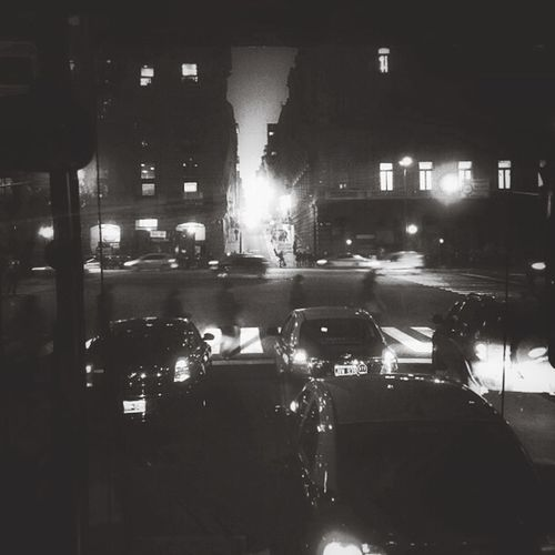 Walk This Way Monochrome Cruzando Photography City Lights