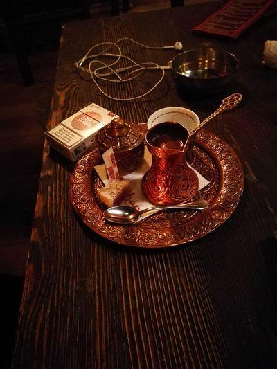 Fildzan Set Coffee Turkishcoffee Ratluk Indoors  Food And Drink Refreshment Drink