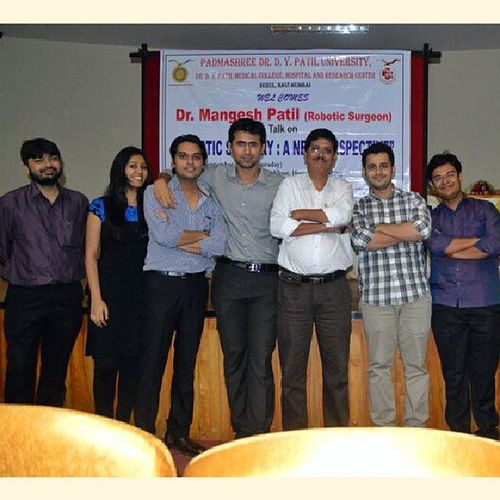 Robotic cme on Thursday 12/9/2013 with my hod