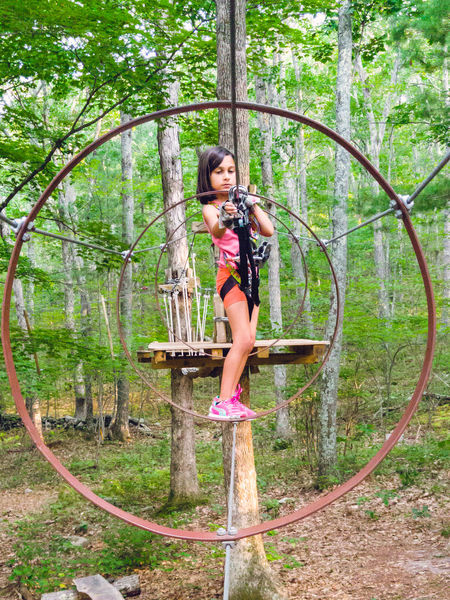 following my daughter through this obstacle course in the trees. Adventure Climbing Confidence  Enjoyment Forest Full Length Growth Happiness In The Trees Leisure Activity Lifestyles Nature Obstacle Course Outdoors Person The Great Outdoors - 2016 EyeEm Awards Tree Young Women The Following Girl Power Feel The Journey Original Experiences The OO Mission Adventure Club Live For The Story Go Higher Be Brave