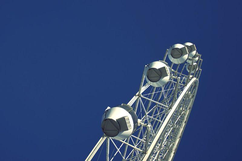 No People Outdoors Sky Day Ferris Wheel Blue Sky Technology EyeEmNewHere EyeEm Gallery EyeEm Best Shots Large Group Of Objects Arrangement Park Amusement Park Rides At Fair Rides Fair Fun Fun Fair