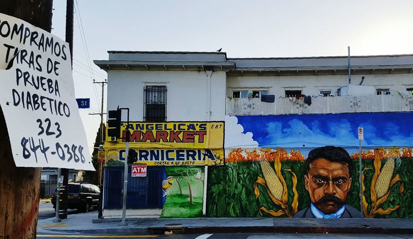 Zapata  Mural Lego Man Bird On The Rooftop Feel The Journey Streetphotography Street Photography Street Art Exterior Wall Paint The Town Yellow