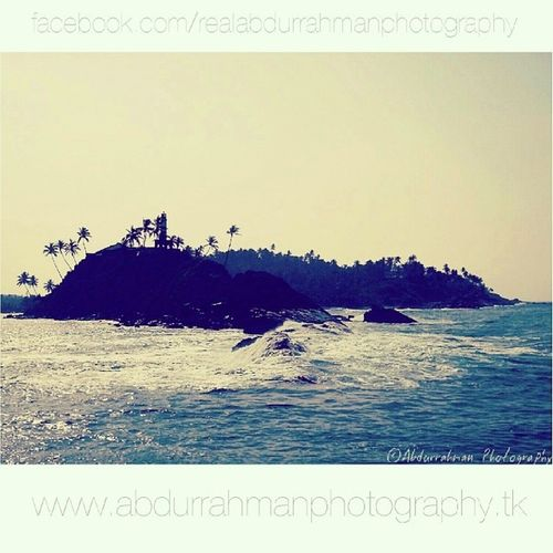 Mirissa, Sri Lanka in the morning :) Abdurrahmanphotography SriLanka Mirissa Lighthouse ocean waves rocks trees paradiseisland love likeforlike amazing travels journey instagood beautiful morning
