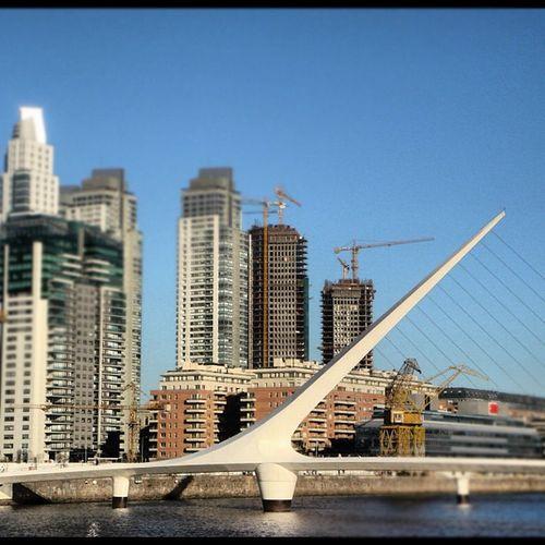 Buenos Aires, Puerto Madero Puentedelamujer