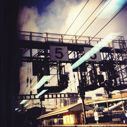 View from a train window heading out of Paddington.. I'm on my way to Abergavenny! My first intrepid trip of 2014..
