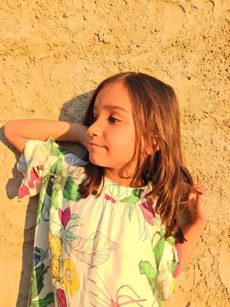 radiant Child Childhood Beach Sand Girls Headshot Smiling Close-up Posing Sunbathing Tan Swimwear Suntan Lotion EyeEmNewHere Summer In The City