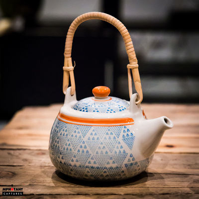 Close-up Indoors  No People Single Object Tea Pot Tea Time Wooden Working