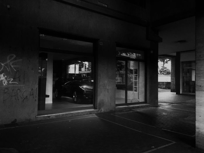 Architecture Basement Building Exterior Built Structure Fuel Pump Illuminated Indoors  Night No People Parking Garage Tales Of Another Transportation Live For The Story