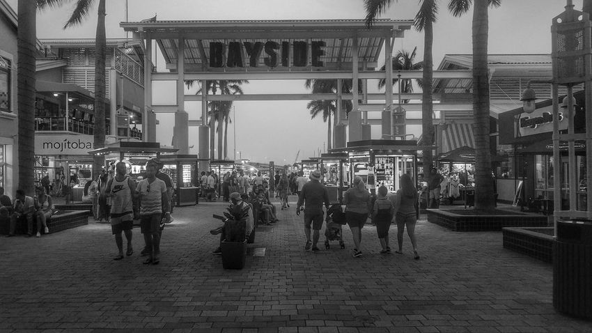 City Adult Real People Outdoors The Week On EyeEm Miami Day Photography Is Art Miami, FL Photography Black & White Black&white Streetphotography Black And White Street Photography People City Of Miami Bayside Bayside Miami Bayside Marketplace Black And White Friday