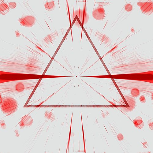 EyeEm Selects Red White Background Abstract Triangle Geometry