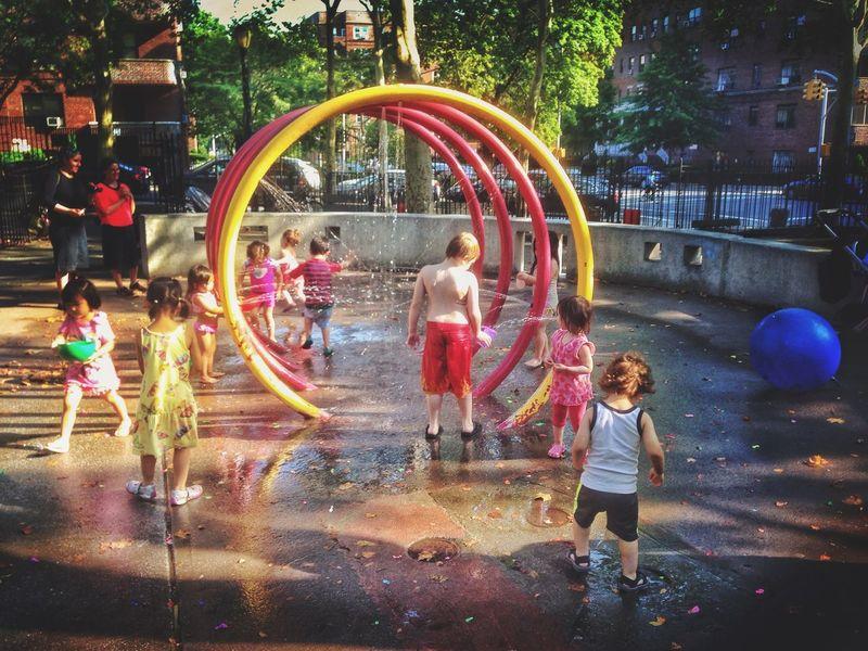 Children Park Sprinkle