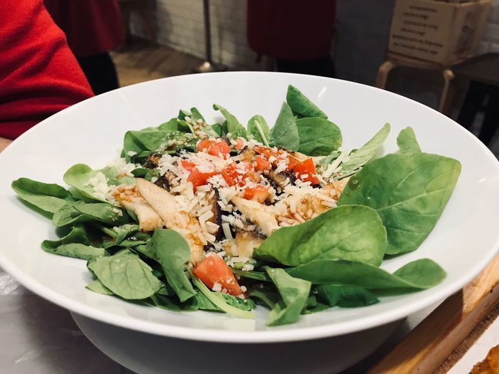 Salad Food And Drink Food Freshness Healthy Eating Ready-to-eat Wellbeing Salad Serving Size Plate Leaf Plant Part Bowl Close-up Vegetable