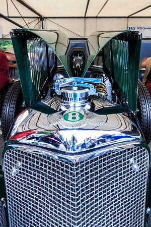 Bentley Goodwood Festival Of Speed 2015 Fos Classic Car