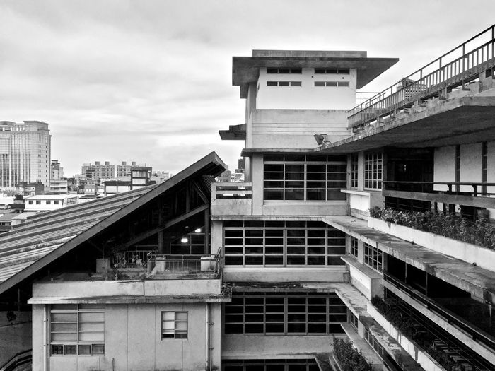 Architecture Blackandwhite Building Exterior Built Structure No People Roof
