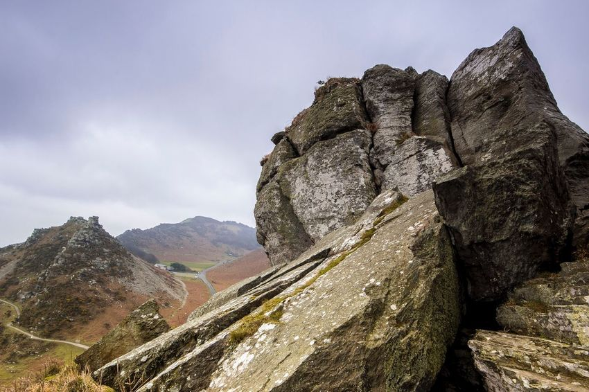 Top of the Valley of Rocks Sky Beauty In Nature Nature Rock - Object Day No People EyeEmNewHere