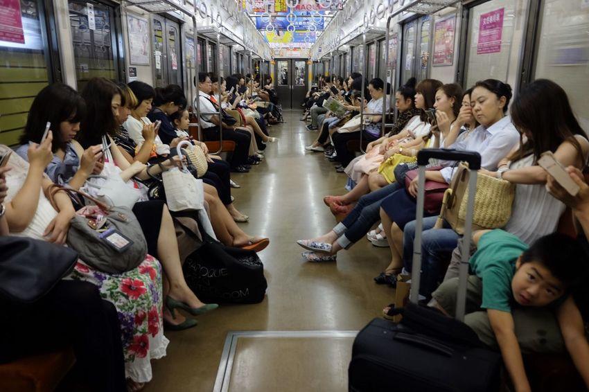 FujifilmX70 Fujifilm_xseries Streetphotography Tokyo Commuting Women Only Urban