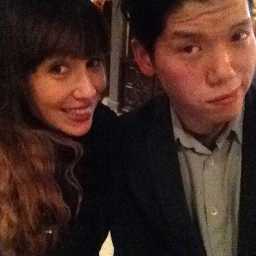 TBT  to last night when I finally wasn't the one demanding to take selfies! ? cc @bestoftorontonet GotSchnitzel