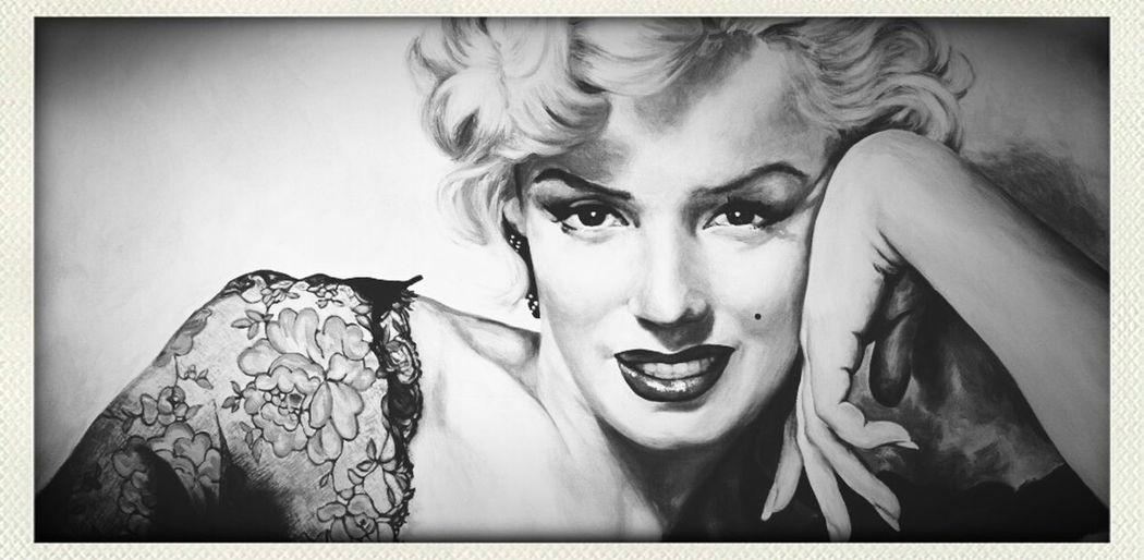 Marilyn Monroe♡♡ First Eyeem Photo