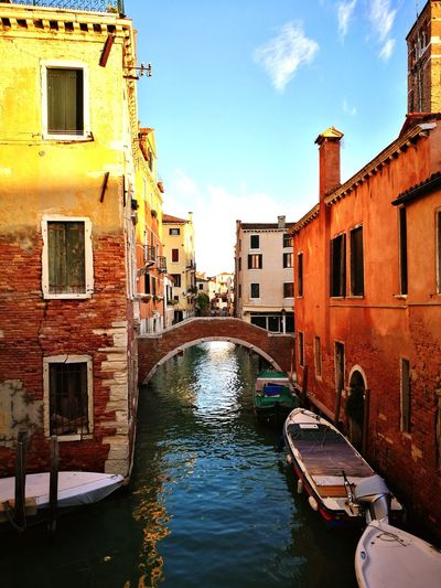 Venice Venice Venice, Italy Gondola - Traditional Boat Water Nautical Vessel Flood Extreme Weather Accidents And Disasters Cultures Canal Reflection Old Town Rowboat