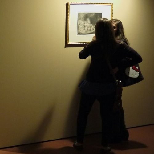"Pavia Art Gallery Rembrandt Hello Kitty Women Who Inspire You Artlovers Etchings ""Incidere La Luce"""