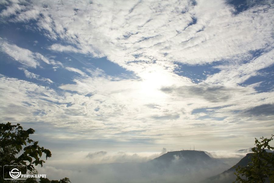 Unmeshshirsath Usphotography Clouds And Sky Mountain Good Morning Trees Dusk Fog Skyscape