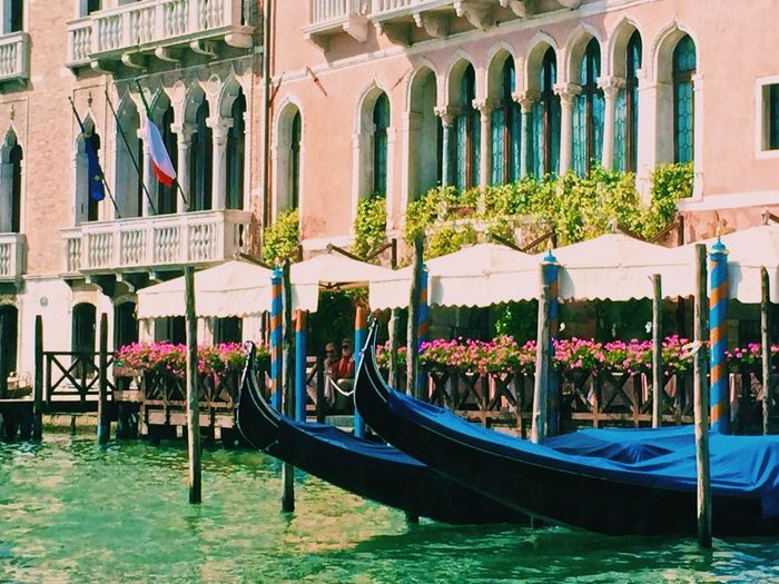 Beautiful Venice! Venice Gondola - Traditional Boat Architecture Water Travel Destinations Building Exterior Built Structure Day