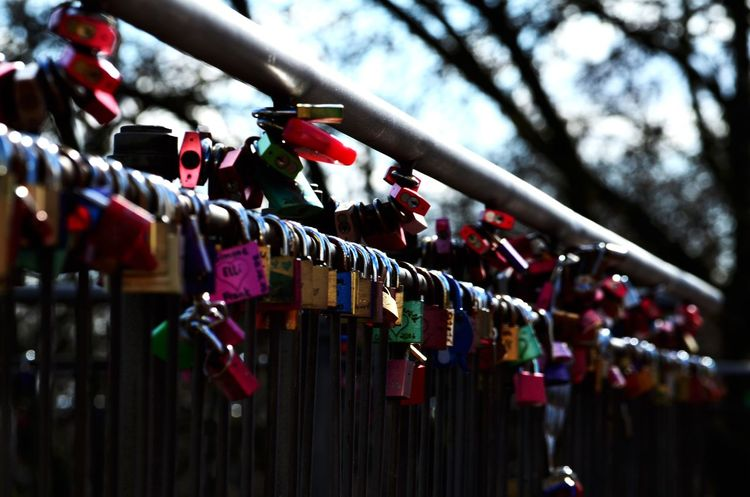 Lock Padlock Love Lock Positive Emotion Hope - Concept Love Luck Day Metal Emotion