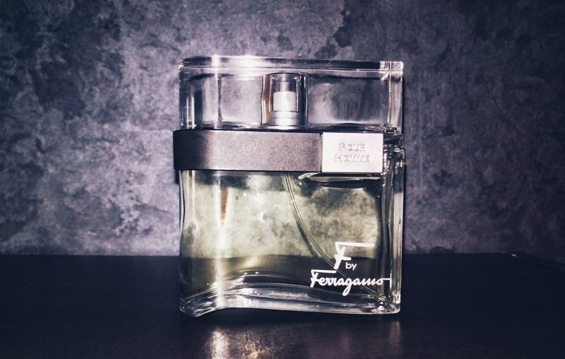 Ferragamo F pour Homme, One of the nicest fragrances I have ever smelled! Fragrance Style Ferragamo Perfum Light Product Cool Reflection Indoors  No People Fashion Design Illuminated Shot Background Wallpaper Stylish Product