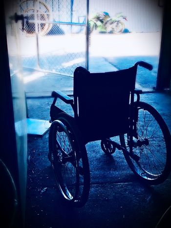New ride Motorbike Accident Accident Motorbike Wheels Wheelchair Indoors  Medical Equipment Window Hospital Healthcare And Medicine No People Differing Abilities Recovery Physical Impairment