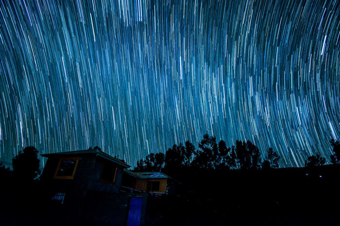 star trails in Amantani island. Amantani Island Amantaní Galaxy Lake Titicaca Milky Way Nightphotography Puno, Perú Reflection Slowshutter Star Gazing Star Trails Stars