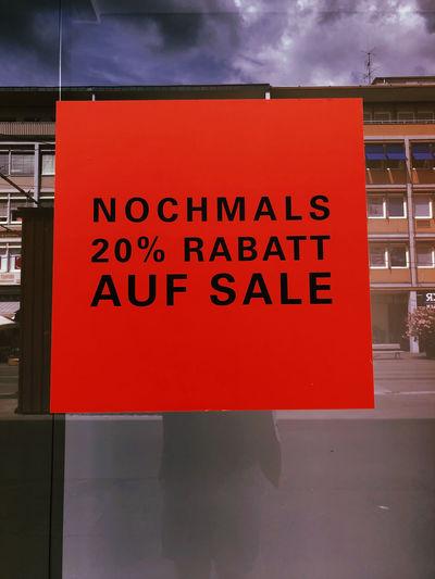 20% Sale Text