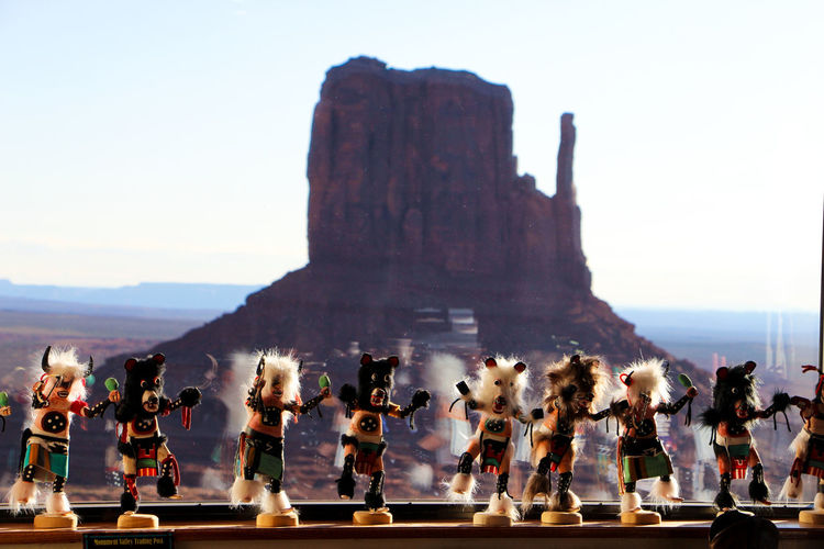 Sky Group Of People Real People Crowd Large Group Of People Men Nature Women Leisure Activity Day Clear Sky Lifestyles Adult Mountain Arts Culture And Entertainment Outdoors History The Past Architecture Monument Valley Arizona Desert Arizona Sunsets The View Hotel