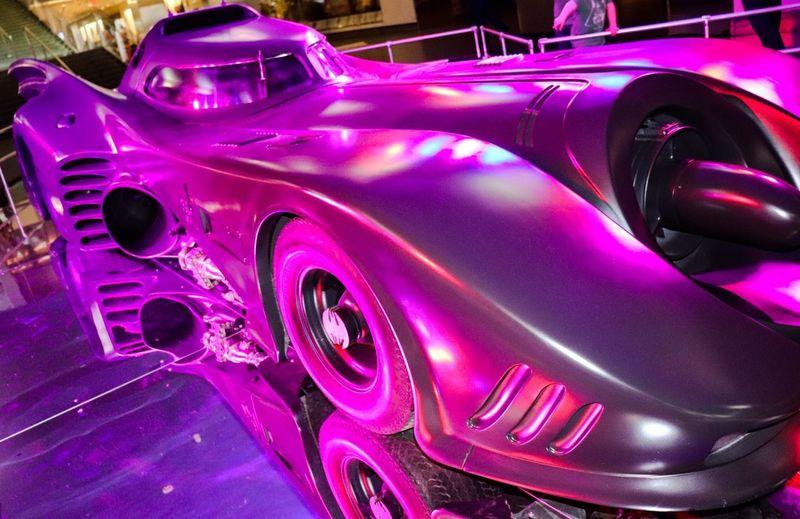 Batmobile Movies Batmobile DC Comics Batman Car Transportation Headlight Front View