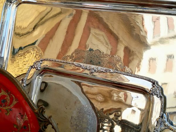 Silver  Silver Plate Antiques Reflection_collection Reflections Place Of Interest Details Historical Building Riflessi argentei....