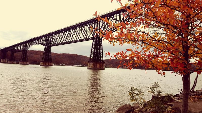 Historic Bridge Poughkeepsie Nueva York