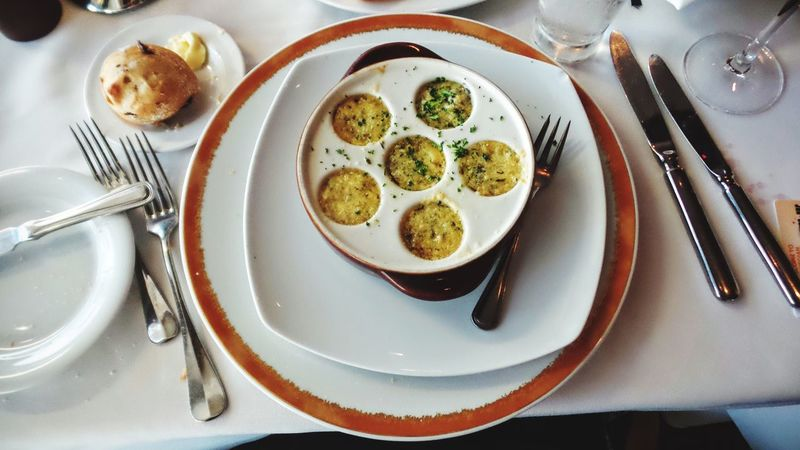 Escargot Frenchfood Appetizer