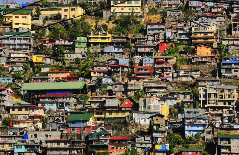 Travel No People Travel Destinations City Full Frame Cityscape Outdoors Day Hillsidehouse Hillside Houses Houses On Hill