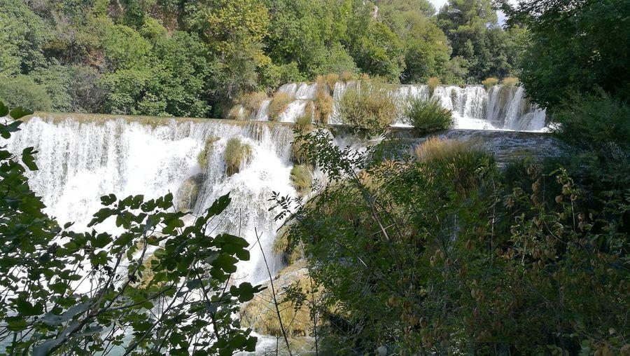 Krka Waterfall Krka National Park Krka Water Outdoors Beauty In Nature Day Vacation Time Travel Destinations Waterfalls